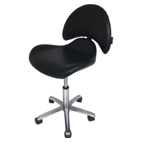 Kozmetička radna stolica s naslonom