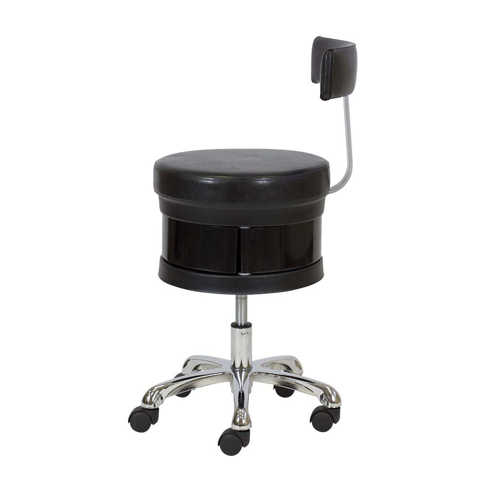 kozmetička radna stolica Antoni crna