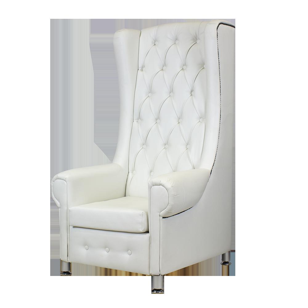 pedikerski tron bijeli