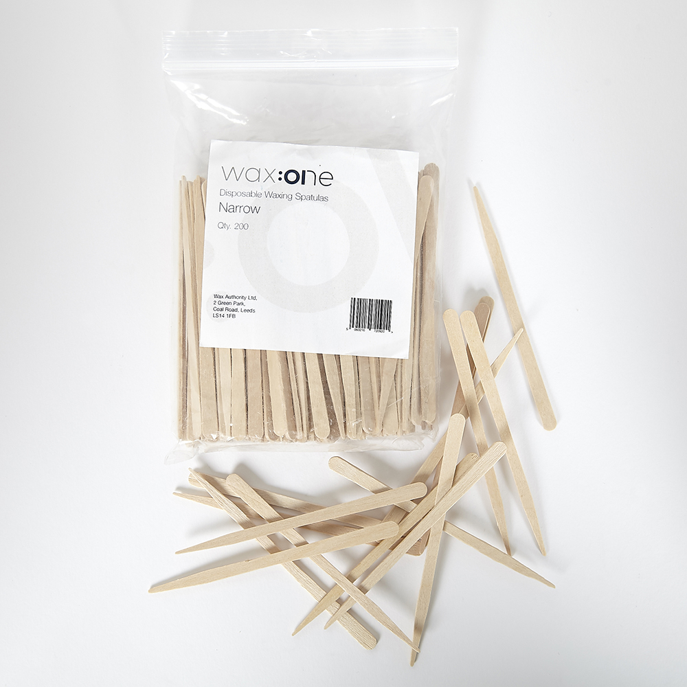 wax:one drvene špatule 200 komada